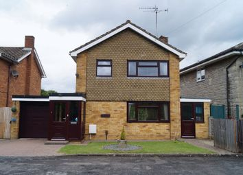 Thumbnail 3 bed detached house for sale in Hampton Close, Hucclecote, Gloucester