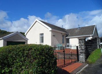 Thumbnail 3 bed detached bungalow for sale in Glyncynwal Road, Upper Cwmtwrch, Swansea