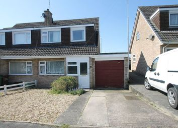 Thumbnail 3 bed semi-detached house for sale in Somerleaze Close, Wells