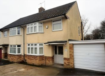 Thumbnail 3 bed semi-detached house for sale in Cotswold Avenue, Duston, Northampton