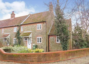 Thumbnail 2 bed end terrace house for sale in The Street, Hempstead, Holt