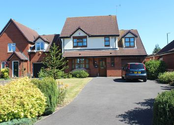Thumbnail 4 bed detached house for sale in Montgomery Close, Gloucester