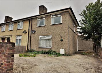 Thumbnail 3 bed semi-detached house for sale in Lambley Road, Dagenham