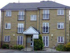 Thumbnail 2 bed flat to rent in Greenhead Court, Huddersfield