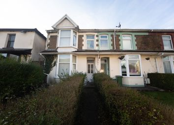 Thumbnail 4 bed end terrace house for sale in Broadway, Pontypridd