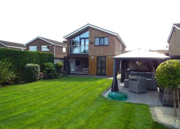 Thumbnail 4 bed detached house for sale in Francis Dickins Close, Wollaston, Northamptonshire