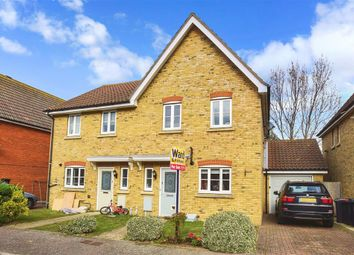 Thumbnail 3 bed semi-detached house for sale in Plover Close, Herne Bay, Kent