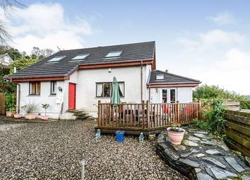 Thumbnail 3 bed detached house for sale in Shore Road, Clynder, Helensburgh