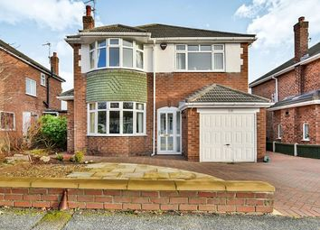 Thumbnail 4 bed detached house for sale in Stanneylands Drive, Wilmslow