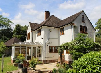 Thumbnail 4 bedroom detached house for sale in Rectory Road, Wokingham
