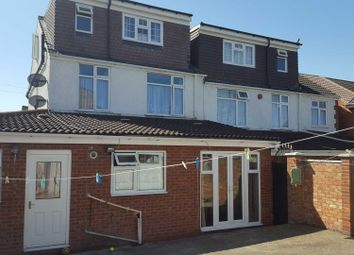 Thumbnail 5 bedroom semi-detached house to rent in Blenheim Crescent, Luton