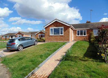 Thumbnail 3 bedroom semi-detached bungalow for sale in Queen Street, Bozeat, Wellingborough