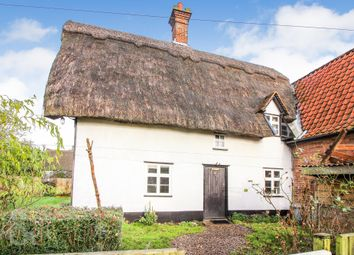 Thumbnail 3 bed cottage for sale in The Green, Tacolneston, Norwich