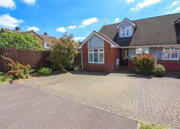 Thumbnail 3 bed semi-detached bungalow for sale in Miles Avenue, Leighton Buzzard