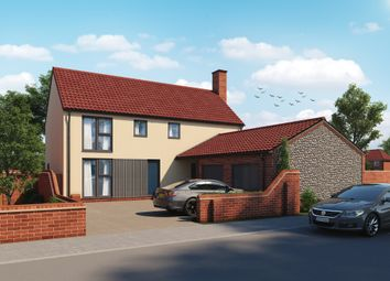 Thumbnail 4 bed detached house for sale in Holt Road, Plot 12, 3 Canon Marcon Way, Edgefield, Melton Constable