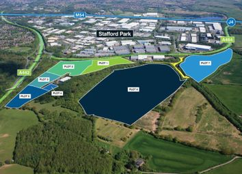 Thumbnail Land for sale in Telford 54 Telford, Shropshire