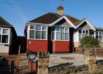 Thumbnail 2 bedroom semi-detached bungalow for sale in The Green, Kingsthorpe Village, Northampton