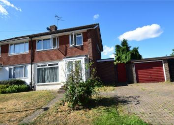 Thumbnail 3 bed semi-detached house for sale in Ruxton Close, Swanley, Kent