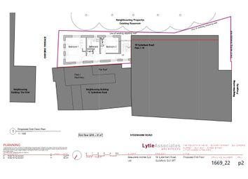 Thumbnail 2 bedroom land for sale in Sydenham Road, Guildford