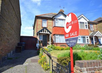 Thumbnail 3 bedroom semi-detached house for sale in Downs Road, Ramsgate, Kent