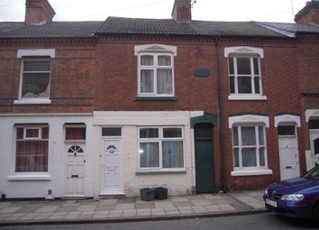 Thumbnail 1 bed terraced house to rent in Wordsworth Road, Leicester