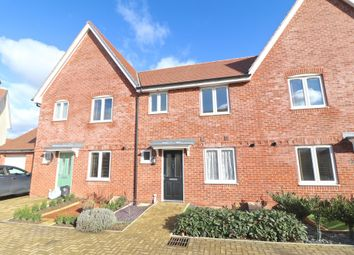 Thumbnail 3 bed terraced house for sale in Hawksley Crescent, Hailsham, East Sussex