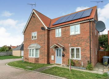Thumbnail 3 bed semi-detached house for sale in Cavendish Gardens, Trimley St. Martin, Felixstowe
