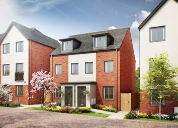 "Thumbnail 3 bed semi-detached house for sale in ""The Souter"" at Derby Road, Lenton, Nottingham"