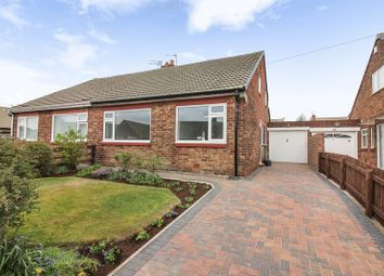 Thumbnail 2 bed semi-detached bungalow for sale in Burnt House Road, Whitley Bay