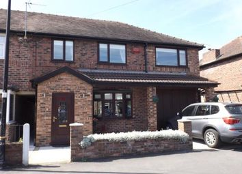 Thumbnail 4 bed semi-detached house for sale in Newton Road, Altrincham, Greater Manchester