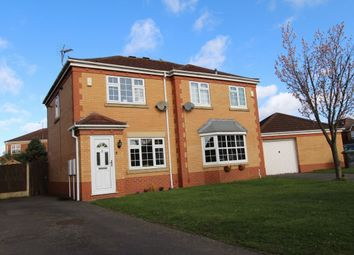 Thumbnail 2 bed semi-detached house for sale in Newall Drive, Chilwell, Nottingham