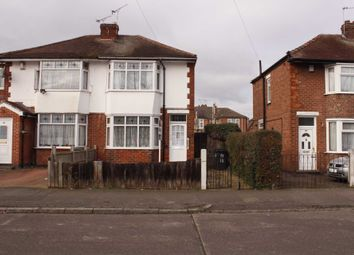 Thumbnail 3 bed semi-detached house to rent in Roseway, Leicester
