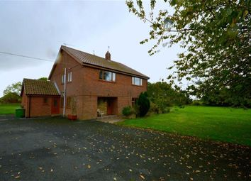Thumbnail 5 bedroom detached house for sale in Fitling Lane, Burton Pidsea, East Yorkshire