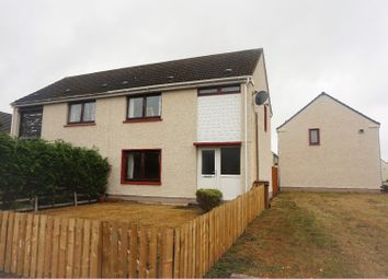 Thumbnail 2 bed semi-detached house for sale in Shillinghill, Alness