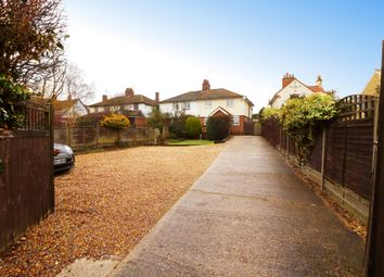 Thumbnail 3 bed semi-detached house for sale in Station Road, Puckeridge
