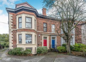 Thumbnail 2 bed flat for sale in Victoria Road West, Crosby, Liverpool