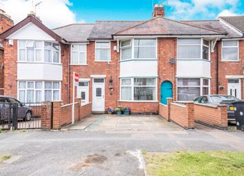 Thumbnail 3 bed town house for sale in Broad Avenue, Evington, Leicester