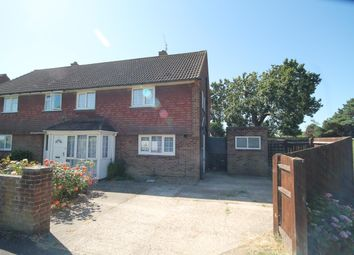 Thumbnail 3 bedroom semi-detached house to rent in The Ridgeway, Horley, Surrey