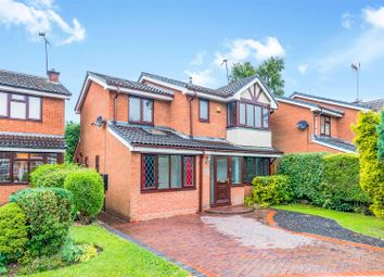 Thumbnail 4 bed detached house for sale in St. Thomas Drive, Hednesford, Cannock