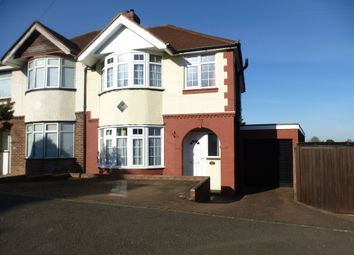 Thumbnail 3 bed semi-detached house for sale in Walcot Avenue, Luton