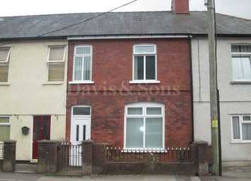 Thumbnail 3 bed terraced house for sale in Gladstone Street, Cross Keys, Newport.