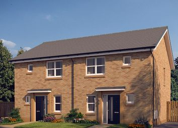 "Thumbnail 3 bedroom semi-detached house for sale in ""The Hamilton"" at Whitehill Street, Newcraighall, Musselburgh"