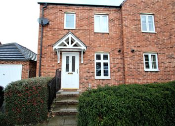 Thumbnail 3 bedroom semi-detached house to rent in Lake View, Pontefract, West Yorkshire