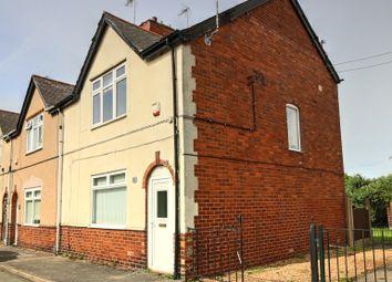 Thumbnail 3 bed end terrace house for sale in Ridgeway Lane, Warsop, Mansfield