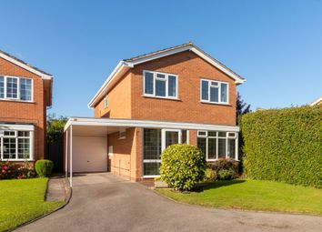Thumbnail 3 bed detached house for sale in Abbots Close, Knowle, Solihull