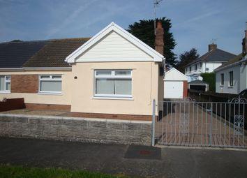 Thumbnail 2 bed bungalow to rent in Headland Road, Bishopston, Swansea