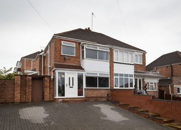 Thumbnail 3 bedroom semi-detached house for sale in Lynton Avenue, Tettenhall, Wolverhampton
