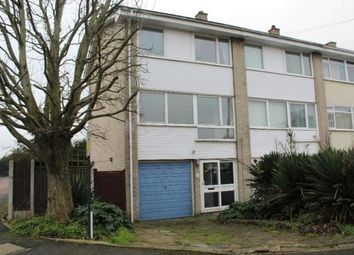Thumbnail 4 bedroom end terrace house to rent in Cowdray Way, Hornchurch, Essex