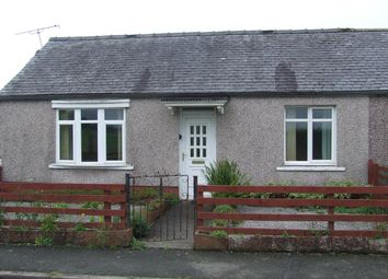 Thumbnail 1 bed semi-detached bungalow for sale in East Road, Lowthertown, Annan