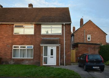 Thumbnail 1 bed semi-detached house to rent in Newton Drive, Framwellgate Moor, Durham